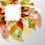Floral background, vector, eps10