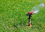Garden lawn water sprinkler