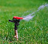 Garden lawn water sprinkler