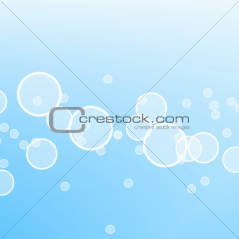 abstract water bubble illustration
