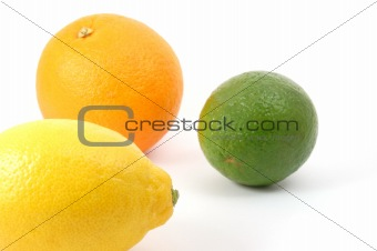 lemon orange and citron fruit