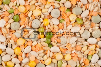 Assorted legumes