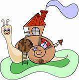snail-house