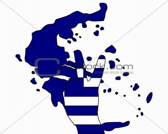 Greece hand signal