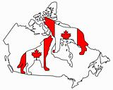 Canadian howling wolves