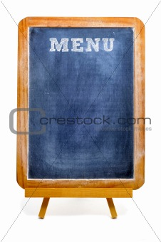 blackboard menu