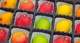 Colorful Marzipan in Fruit Shapes