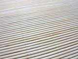 Macro of an new bamboo mat texture