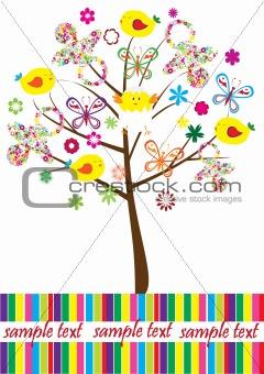baby shower tree
