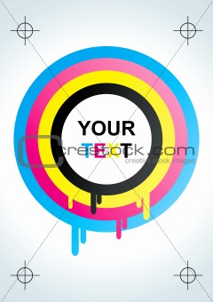 Abstract CMYK background
