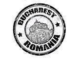 Bucharest stamp