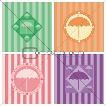cute umbrella backgrounds
