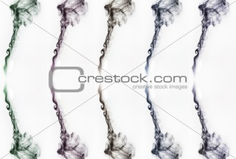 Abstract fantasy smoke texture background