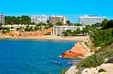 Capellans Beach, Salou, Spain