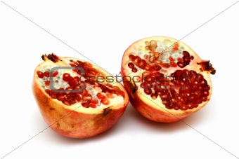 fresh and tasty pomegranate
