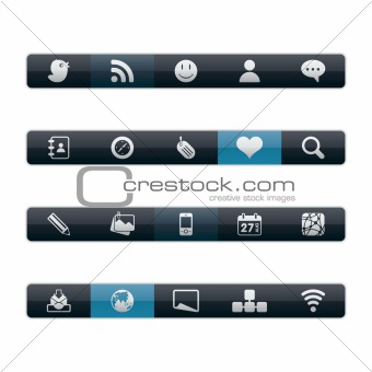 Interface Icons - Social Media