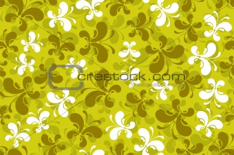 abstract butterflies seamless