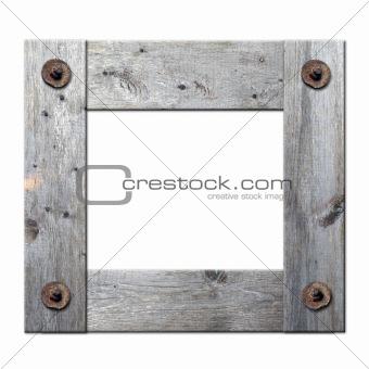 frame of boards