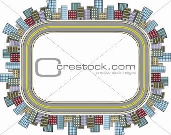City Street Border