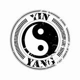 yin and yang stamp