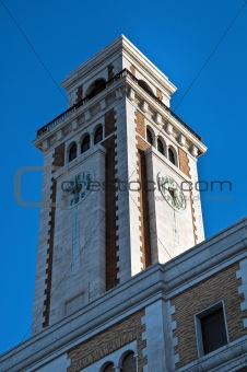 Historical palace. Bari. Apulia.