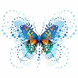 Stylized butterfly