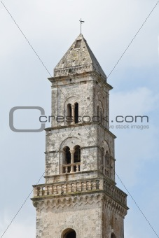 St. Domenico Belltower Church. Putignano. Apulia.