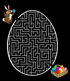 Rabbit is looking for the eggs