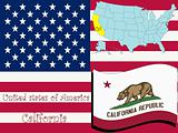 california state illustration
