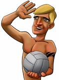 volleyball man