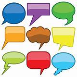dialog bubbles