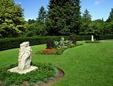 Park with amazing garden