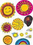 Set of Various Suns