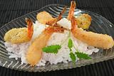 Thai prawns specialties