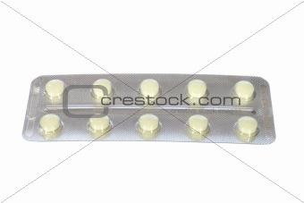 blister pack of pills