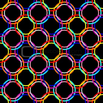circles seamless mesh