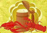 Beer with crabs