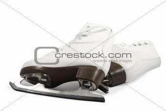 Pair Of White Skates