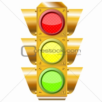 cross road traffic lights