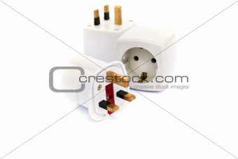 Power adapter plugs