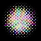 colorful halftone, vector