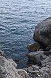 sea rocky bay