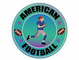 American Football  label