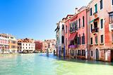 Palaces on Grand Canal Venice Italy