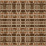Brown artistic pavers