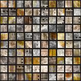 Glossy tile mosaic