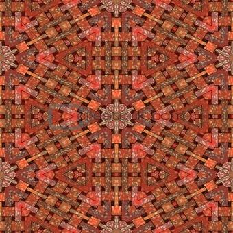 Artistic floor tiles