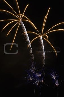 Fireworks display.