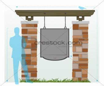 Brick Signage Diagram