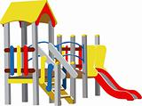 Vector Children Playground